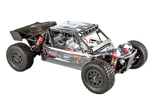 less Desert Truck 1:14 RTR EMB-DTH | Brushless Antrieb | bis zu 80 Km/h möglich (mit 3S Akku) | Spritzwasser geschützte Elektronik | 4-Rad Antrieb | komplett Kugelgelagert | Aluminium Öldruckstoßdämpfer | Aluminium Kardanwelle | gekapselter Antrieb | Carbon Tuningteile erhältlich | Ready to Run | diverse Umbaumöglichkeiten | 2,4GHZ Fernsteuerung | Schnellladegerät und Fahrakku enthalten (Mini Desert Truck)