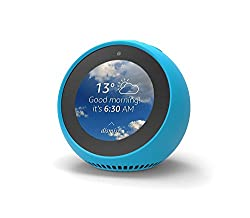 Mission Silicone Case For Amazon Echo Spot - Bahama Blue