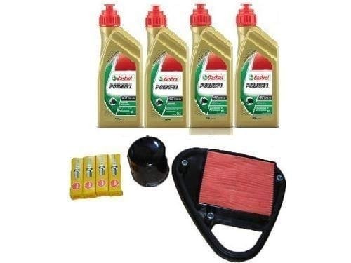 MGM Tecneco Kit Honda VT 600 Shadow Huile Castrol Filtre huile Air bougies 88/