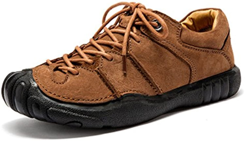 XUE 2018 Neue Herrenschuhe Leder Frühling Herbst Formale Schuhe Loafers  SlipOns Fahren Schuhe Wanderschuhe