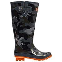 Kangol Printed Festival Wellington Boots Junior Boys Camouflage Wellies Gum Boot