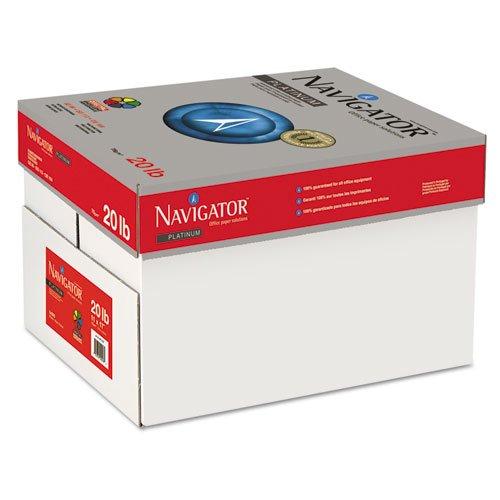 Platinum Papier, 99Helligkeit, 9,1kg, 11x 17, weiß, 2500/Carton, verkauft als 5Ries