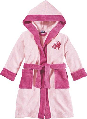 Golden Lutz® Kinder Mädchen Mikrofaser Bademantel (rosa pink Einhorn, Gr. 98/104) | LUPILU