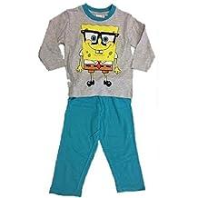 b5b44d99e2 Pijama largo niño Bob Esponja
