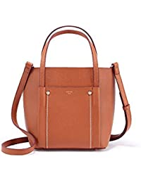 Bolso Messenger para Mujer Bolso Bandolera Simple Gran Capacidad Bolsa Multifuncional (Color : Brown,