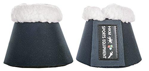 HKM 85866900.0652 Hufglocken Comfort mit Polsterung, dunkelblau