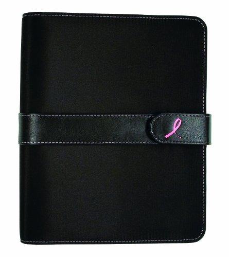 Pink Ribbon Starter Set, Desk Binder 1