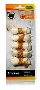 Bubimex - Friandises Os Noué Blanc au Poulet pour Chien - x5