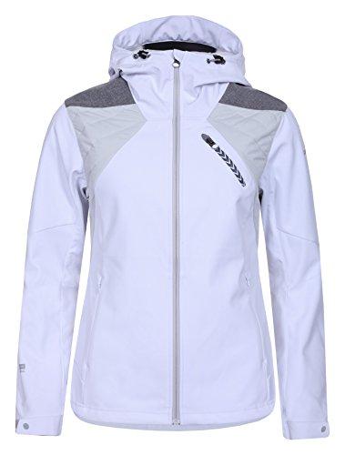 ICEPEAK Damen Liljan Softshell Jacke, Weiß, 46.0 Preisvergleich