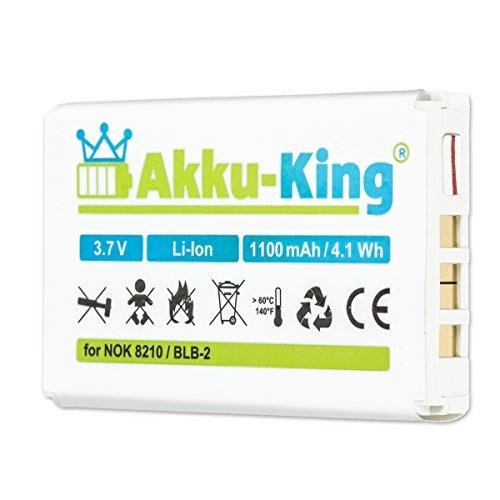 Akku-King Akku für Nokia 8210, 3610, 5210, 6510, 7650, 8250, 8310, 8850,...