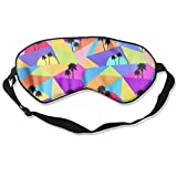 Palm Trees Avant-garde Style Sleep Silkworm Eye Mask