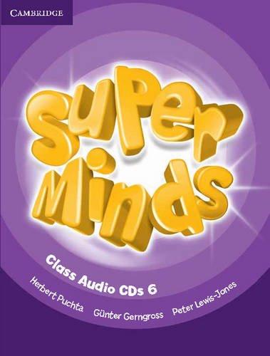 Super Minds Level 6 Class CDs (4) - 9780521215879