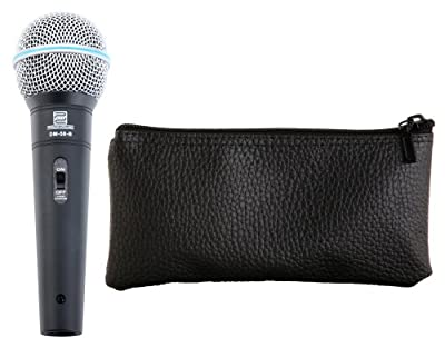 Pronomic DM-58-B Vocal Microphone with Switch Set + Case