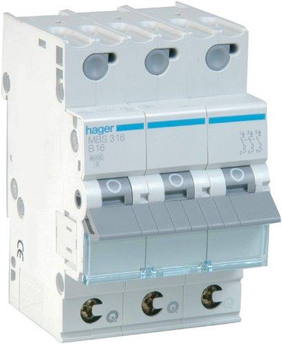 Sonstige 47485 Leitungsschutzschalter C32A 3-polig, Hager