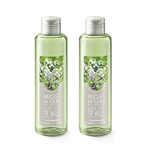 yves-rocher-lily-of-the-valley-shower-gel-200-ml-x-2-pcs-coin-purse-1-pcs