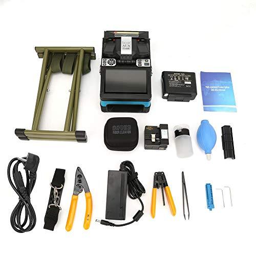 Fusionadora, Accesorios para máquina herramienta de empalme de fibra óptica automática Set AC 100-240V(Enchufe de la UE)