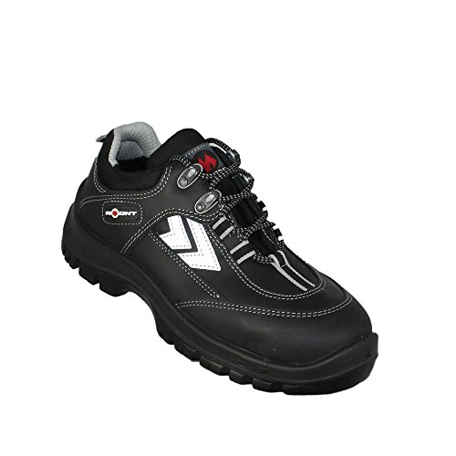 Aimont mirgo chaussures de sécurité norme s3 sRC chaussures berufsschuhe businessschuhe plat noir Noir