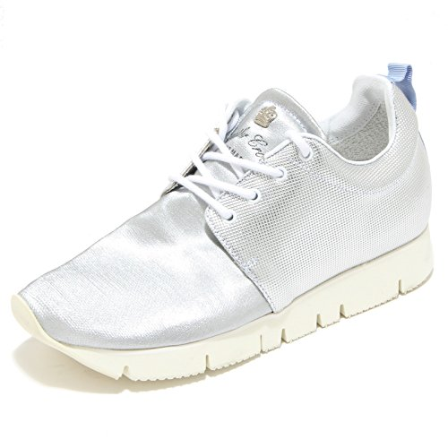 Leather Crown 2834I Sneakers Donna Running Hand Made Lumiere Scarpe Shoes Women