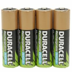 Duracell Akku Active Charge Micro AAA (HR03) 1,2V 800mAh im 4er Pack (Akku-ladegerät Energizer 9v)