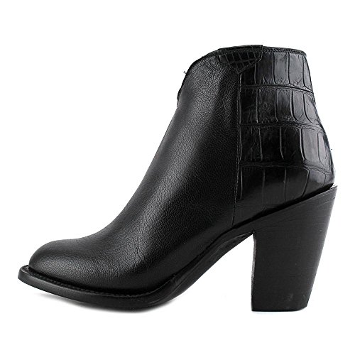 Lucchese Jenna Cuir Bottine Black