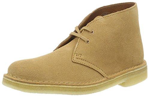 Clarks Originals 261227394, Stivali Desert Boots Donna Beige (Fudge)