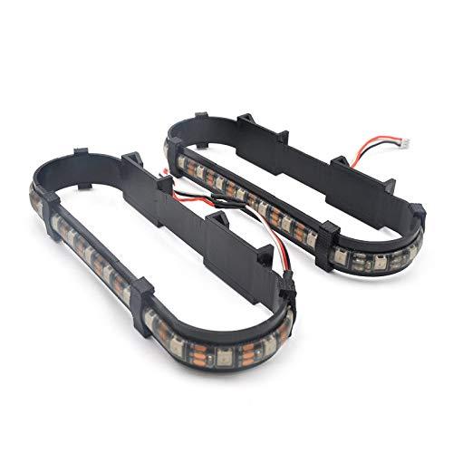Rüsten Sie RGB-LED-Licht-dauerhafte Fahrwerk-Schutz für DJI Mavic 2 Pro/Zoom Drone auf