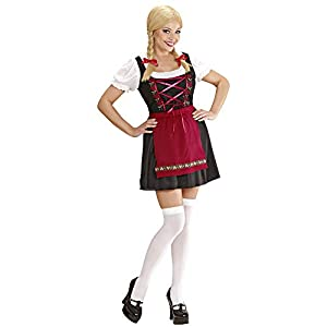 WIDMANN Widman - Disfraz de chica de ocktoberfest para mujer, talla XL (7262R)