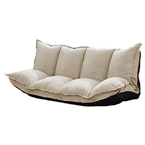 Tlmydd divano multi-funzionale per divani letto piccolo divano pieghevole tatami tatami divano pigro (colore : beige)