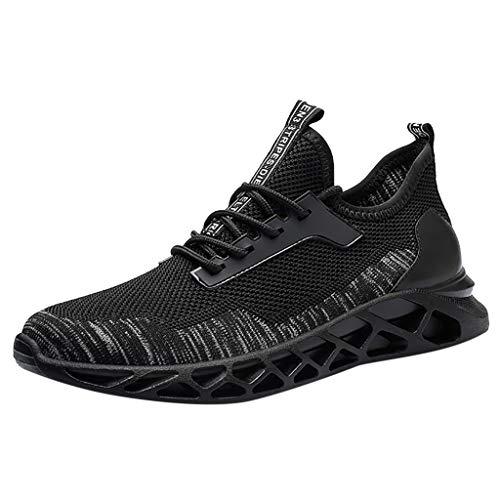 ABsoar Sneakers Herren Mesh Atmungsaktiv Sportschuhe Mode Casual Sneakers Studenten Laufschuhe Joggingschuhe Netzoberfläche Freizeitschuhe