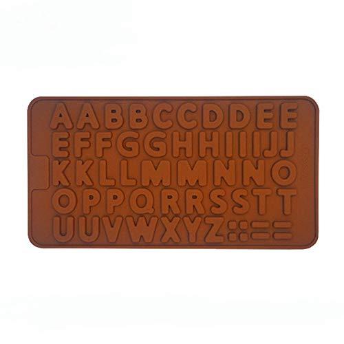 WWXH Silikon Backform Doppel 26 englische Buchstaben Schokoladenform Baby Babynahrung Supplement Box Springform 1 Base