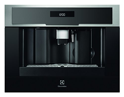 Electrolux EBC54524AX Integrado Totalmente automática Máquina espresso 1.8L Negro, Acero inoxidable - Cafetera (Integrado, Máquina espresso, 1,8 L, Granos de café, De café molido, 1350 W, Negro, Acero inoxidable)