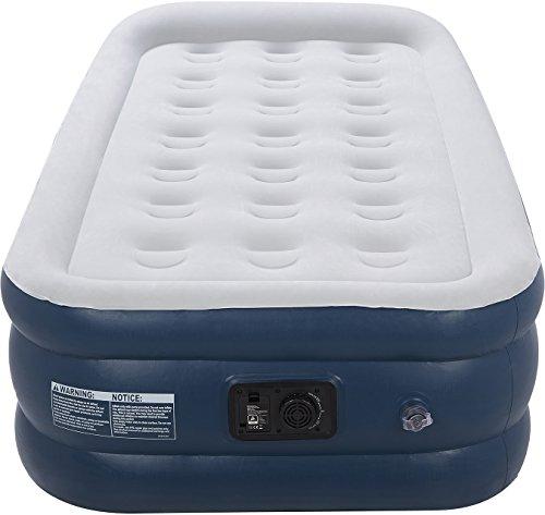 Premium Luftbett Einzelbett – 91 x 187 x 46 cm – mit eingebauter elektrischer Pumpe und integriertem Kissen - 3