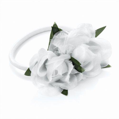 Bling en ligne Rose Cheveux Fleur élastique.