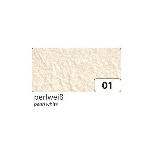 folia 571001 Maulbeerbaum Papier 100g/m², 38,5x51cm, perlweiß (10 Bogen)
