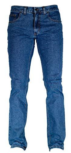 Pioneer Stretch Jeans 1144 - Ron mittelblau / stone wash, Weite / Länge:40W / 34L