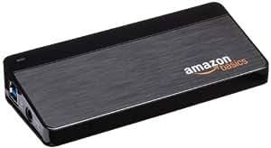AmazonBasics 7-Port USB 3.0 Hub with 12 V / 3 A Power Adapter