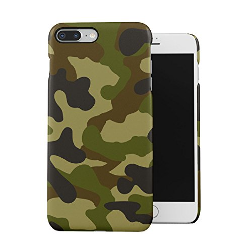 Grey Camouflage Camo Apple iPhone 7 Snap-On Hard Plastic Protective Shell Case Cover Custodia Camouflage