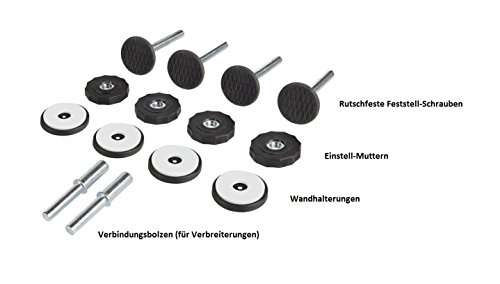 Impag Türschutzgitter Treppenschutzgitter 62 – 222 cm selbstschließend – zum Klemmen – ohne Bohren Swing + 20 Weiß - 6