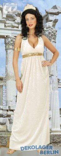 Unbekannt Aptafêtes-cs925613/L--Kostüm Göttin Antik Elfenbeinfarben und Glitzer-Größe L (Antike Kostüm Geschichte)