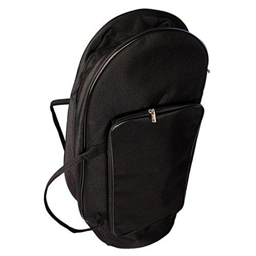 MagiDeal Gigbag/Tasche für Französisches Horn / Tenorhorn / Tuba, aus Gepolstertem Oxford Tuch
