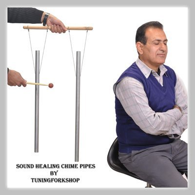 c-g-whole-body-2-healing-tuned-pipes-louder-than-tuning-fork-with-mallethand-stand-free-shipping-by-