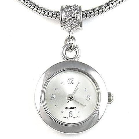 Bead Uhr für Armbänder und Ketten Farbe