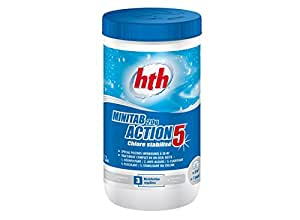 Hth - Minitab Chlore stabilisé multifonction HTH en pastilles 20 g - 1.20 kg