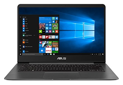 Asus UX430UA-GV265T - Ordenador portátil de 14.0' FHD, Intel Core i5-8250U, RAM de 8 GB, SDD de 256 GB, Intel HD Graphics 620, Windows 10 Original, color gris metal