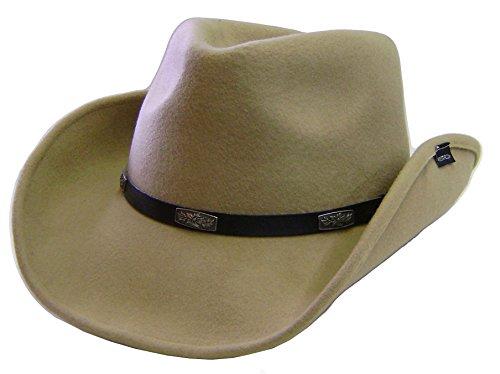 modestone-unisex-wool-felt-concho-hatband-chapeaux-cowboy-beige