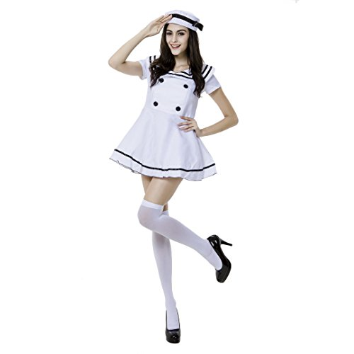 VENI MASEE Damen Sexy Sailor Girl Pinup