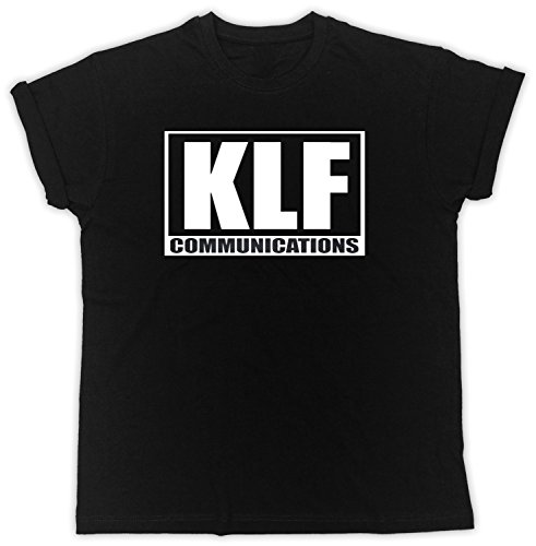 Unisex KLF Communications Black T-shirt - S to XXL