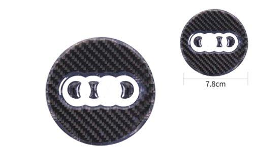 Preisvergleich Produktbild Lenkrad Mittelring Blende Carbon Optik A1 A3 S3 A4 S4 A5 S5 A6 S6 A7 S7 A8 S8 R8 Q2 Q3 Q5 Q7 TT Q8