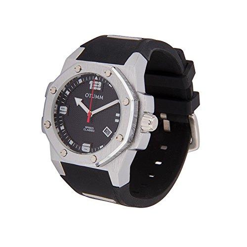 Otumm Classic Speed CLST41001 41mm Edelstahl Schwarz Armband Unisex Uhr