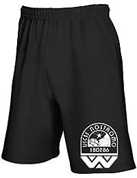 T-Shirtshock - Pantalones deportivos cortos TGAM0082 USCSS Nostromo Crew Logo